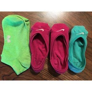 Nike bootie socks!